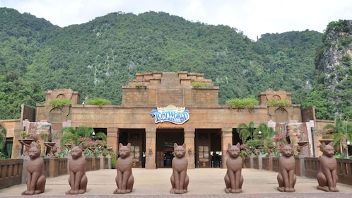Entrance to the Lost world of Tambun amusement park in perak