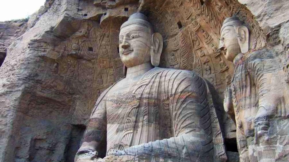 Show item 2 of 5. stone buddha in xian