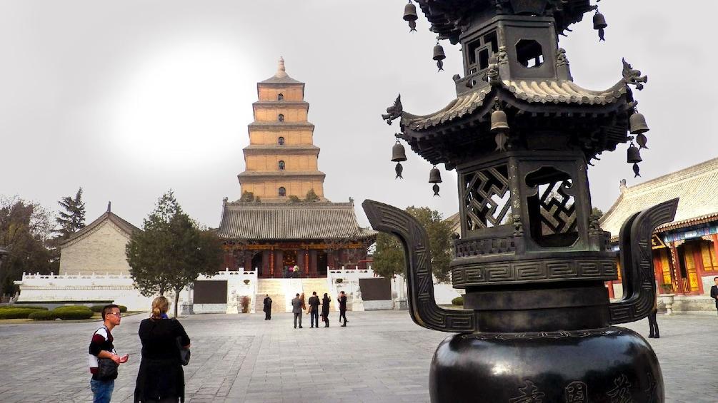 Show item 4 of 5. courtyard in xian