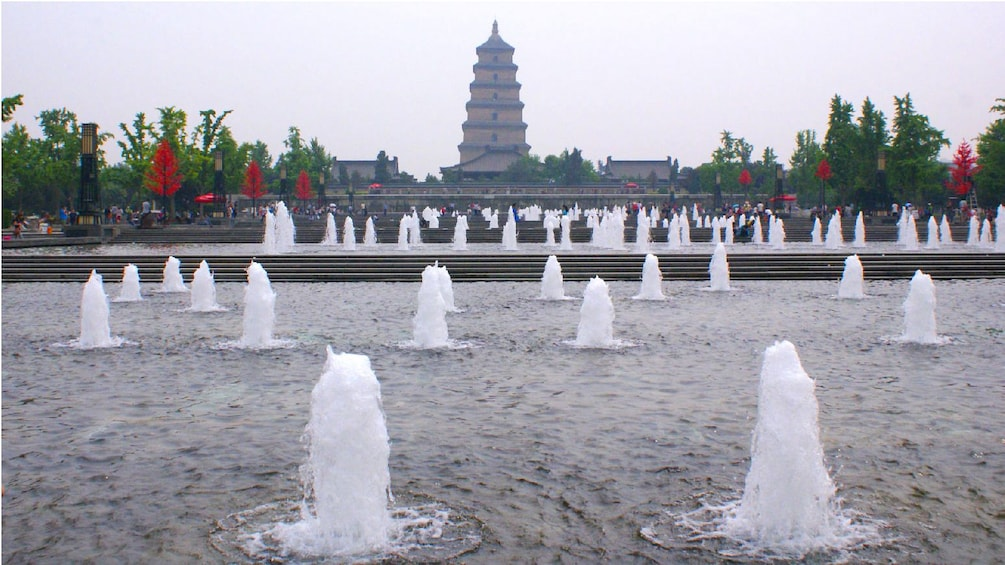 Show item 2 of 5. fountains in xian