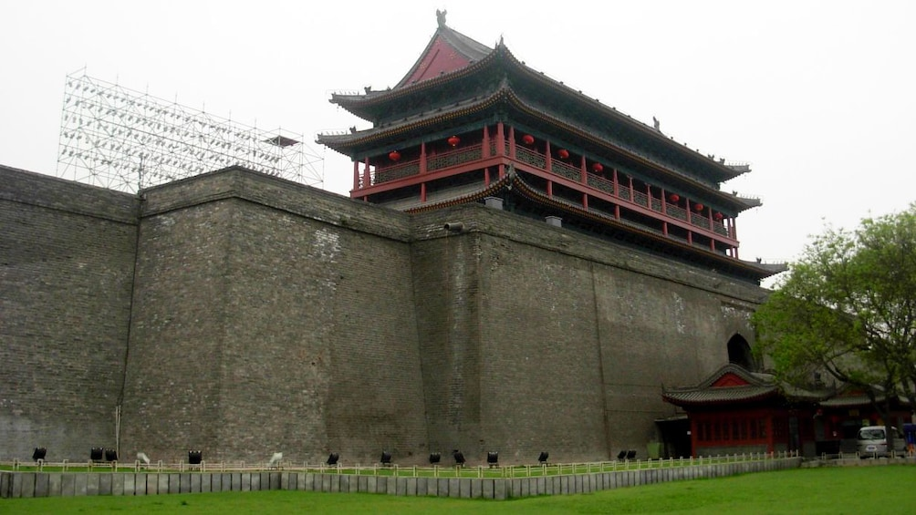 Show item 5 of 5. styled building with high walls in xian