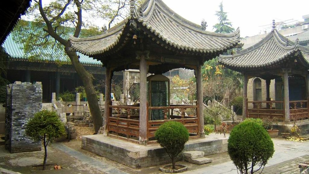 Show item 2 of 5. small pagodas in xian