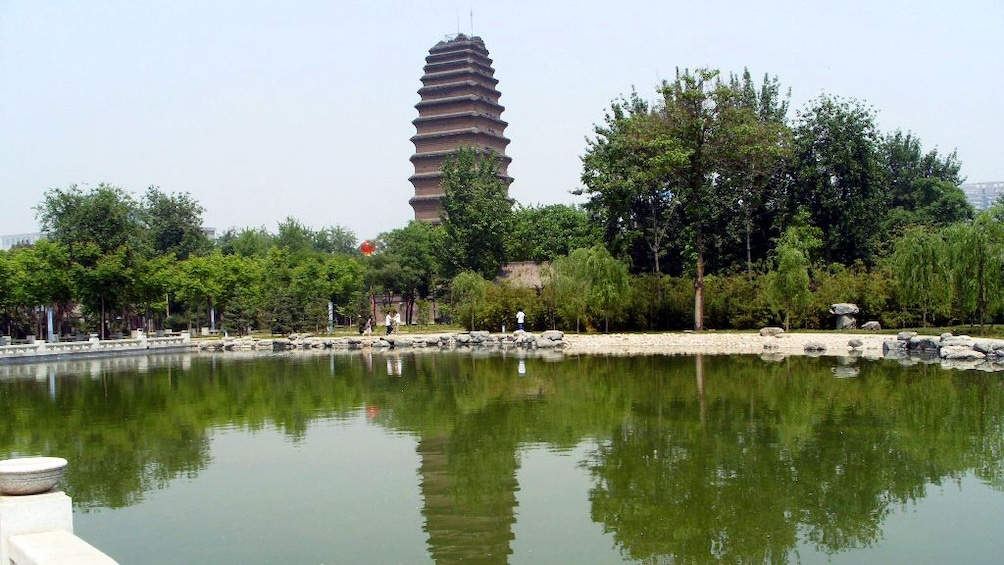 Show item 4 of 5. city view in xian