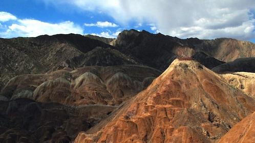 mountain view in xian