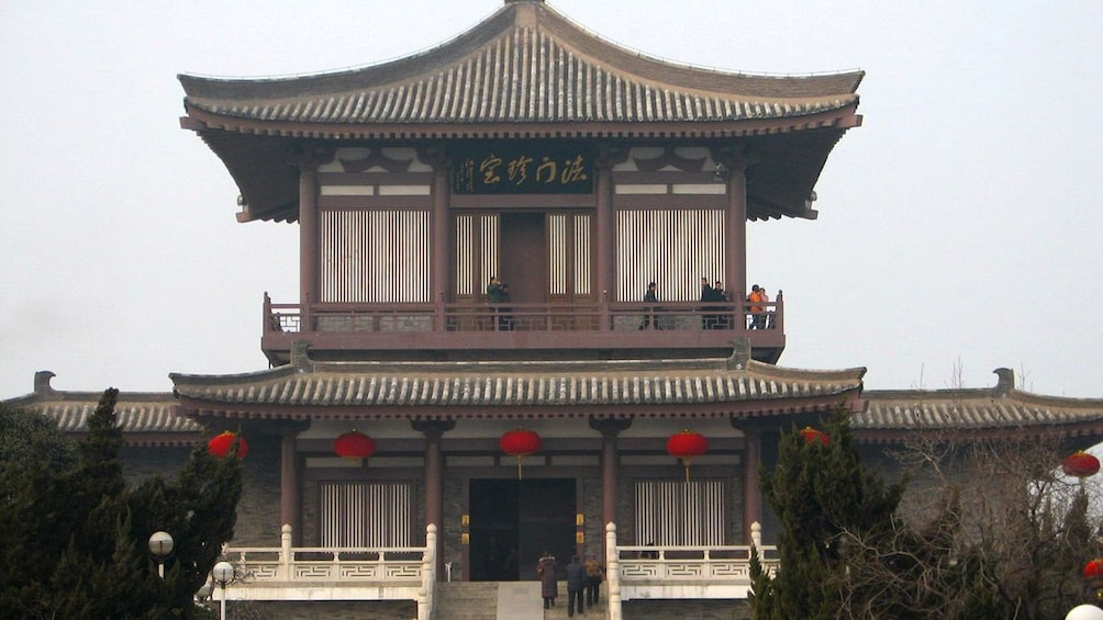 pagoda style building