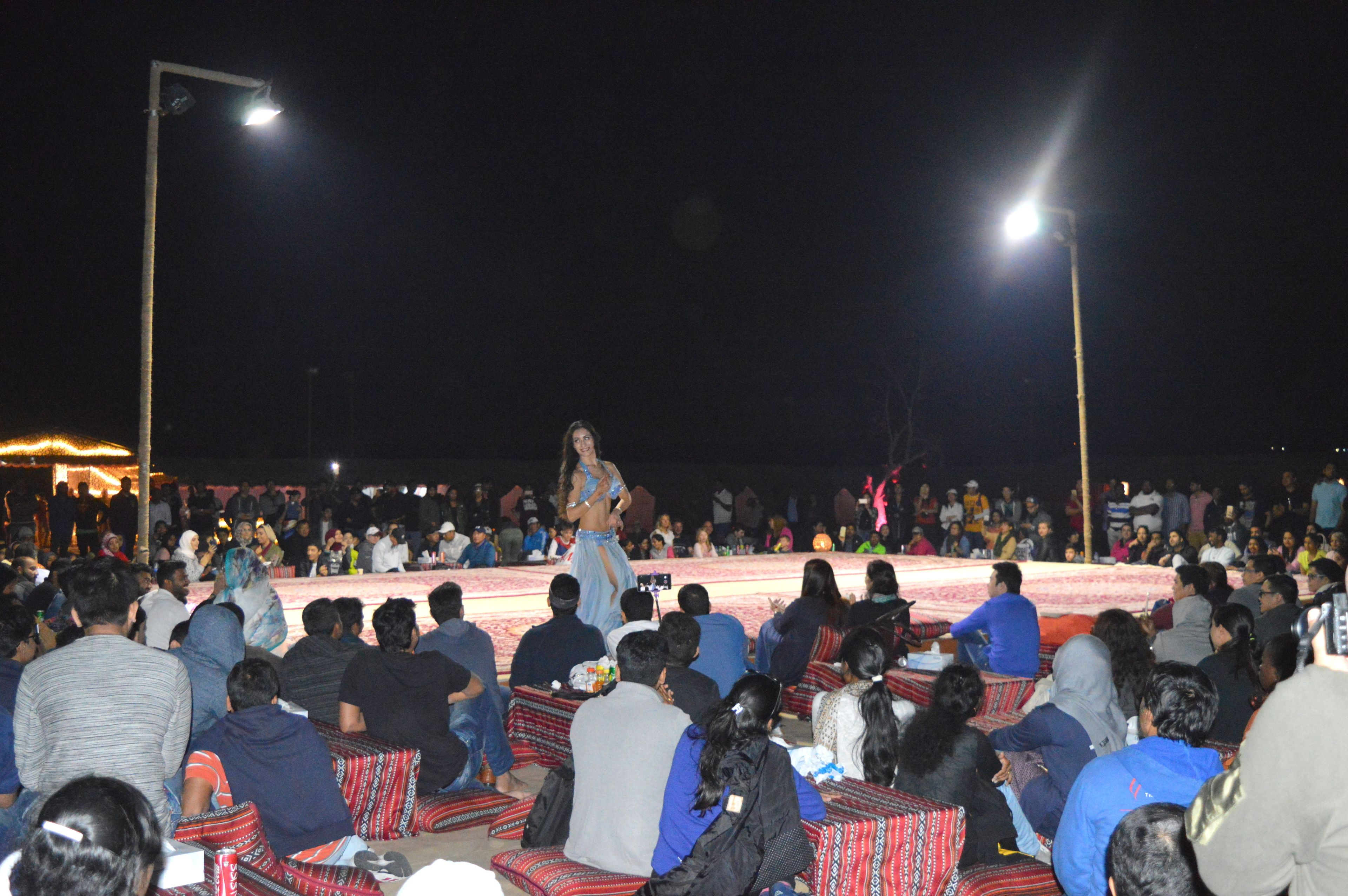 Sunset Desert Safari with Barbeque Dinner & Belly-Dancing Show