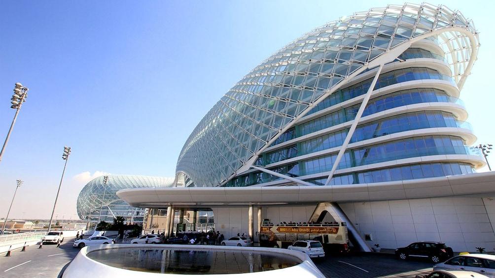 Show item 5 of 7. Yas Island hotel in Abu Dhabi's