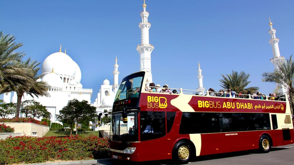 Show item 1 of 7. open air tour bus in Abu Dhabi