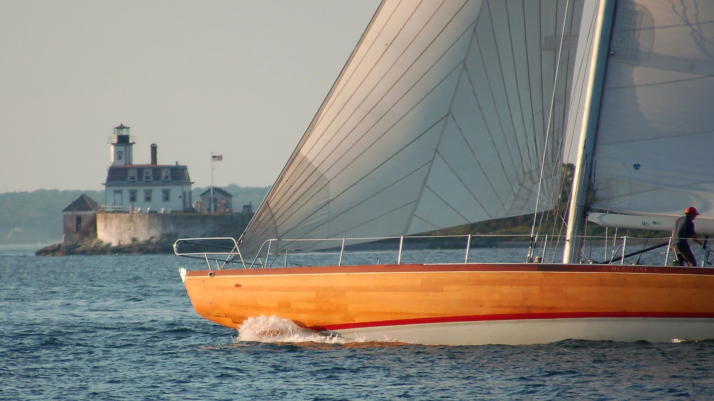 Sailing Excursion - America's Cup 12 Metre Racing Yacht