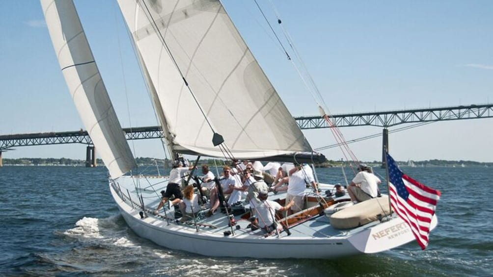 Show item 1 of 4. Sailing Excursion - America's Cup 12 Meter Racing Yacht