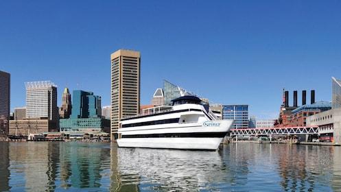 Exterior view of the Spirit of Baltimore cruise ship