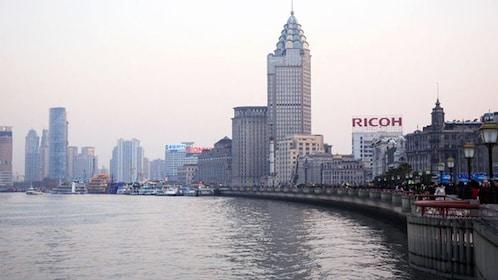 Beautiful panoramic view of Shanghai
