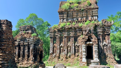Breathtaking view of the My Son ruins in Vietnam