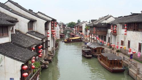 Suzhou Garden & Zhouzhuang Water Village Tour