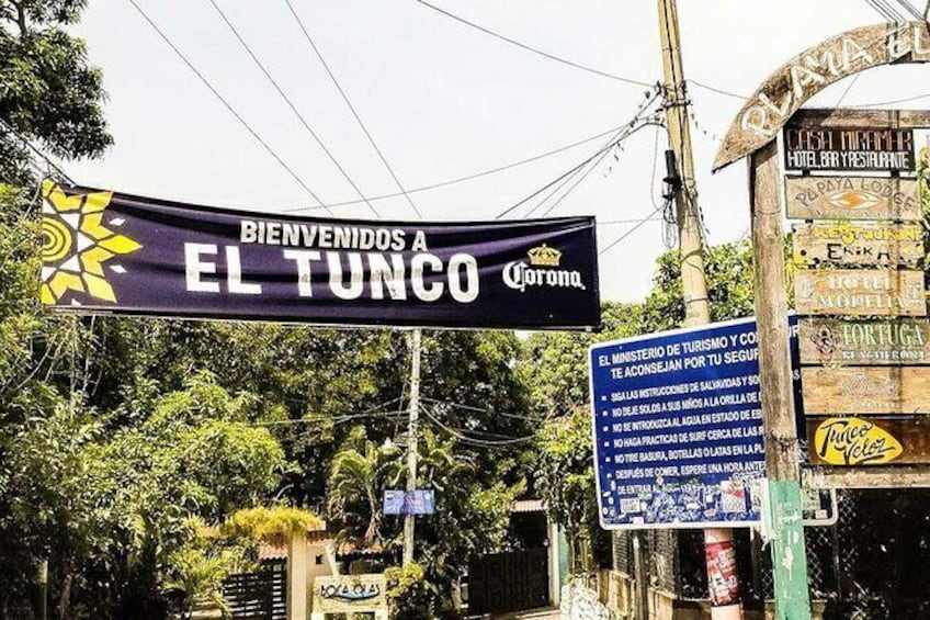 Show item 2 of 2. Airport transfer to El Tunco beach or nearby areas