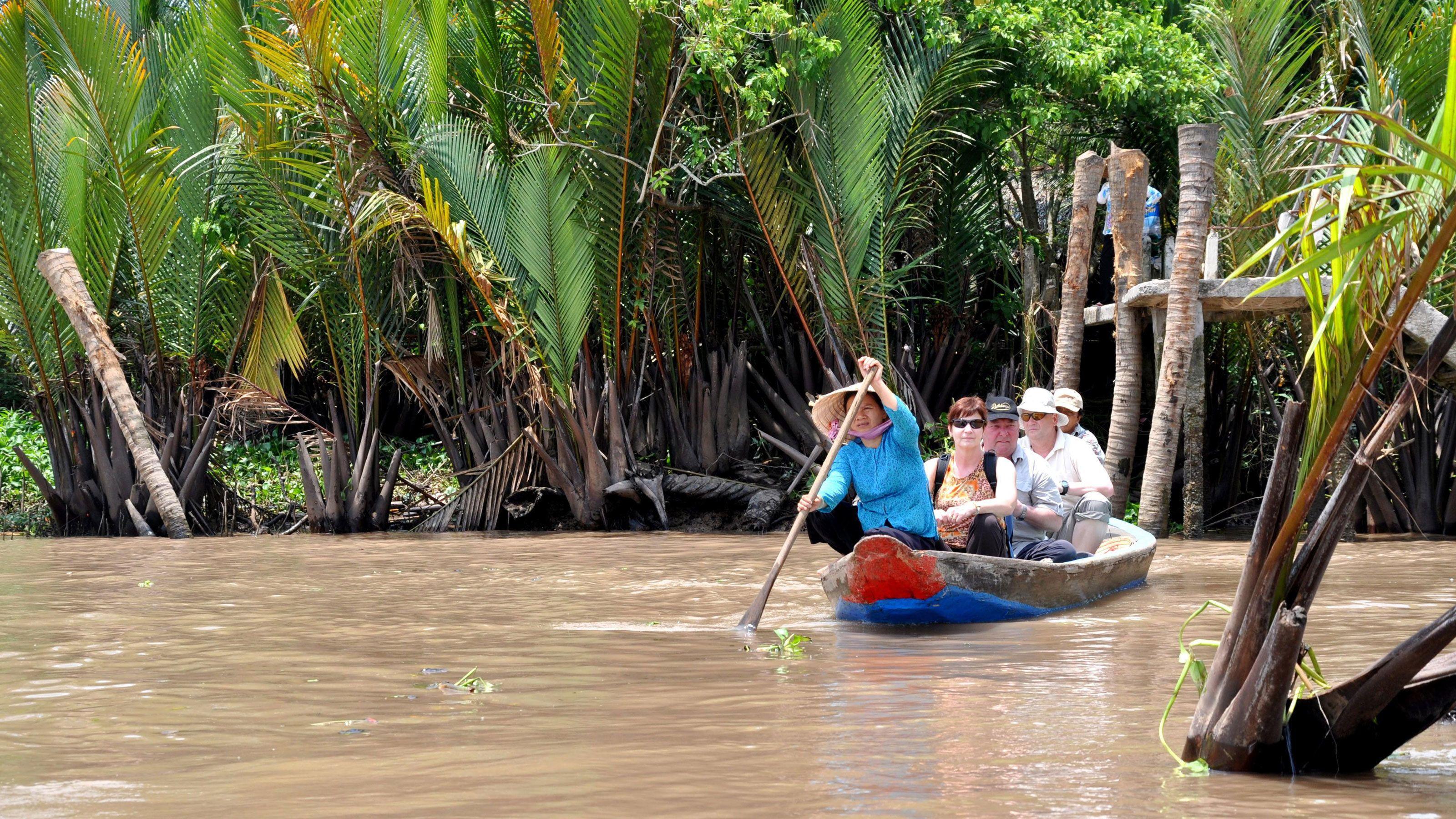 Mekong Delta river cruise in Vietnam