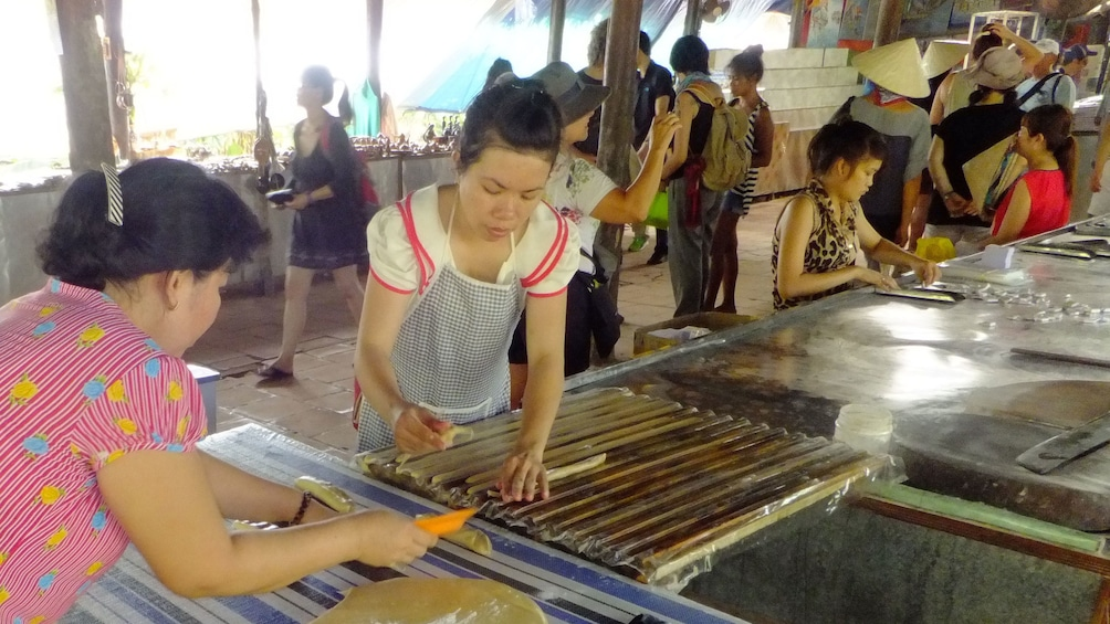 Show item 2 of 10. Marketplace in the Mekong Delta of Vietnam