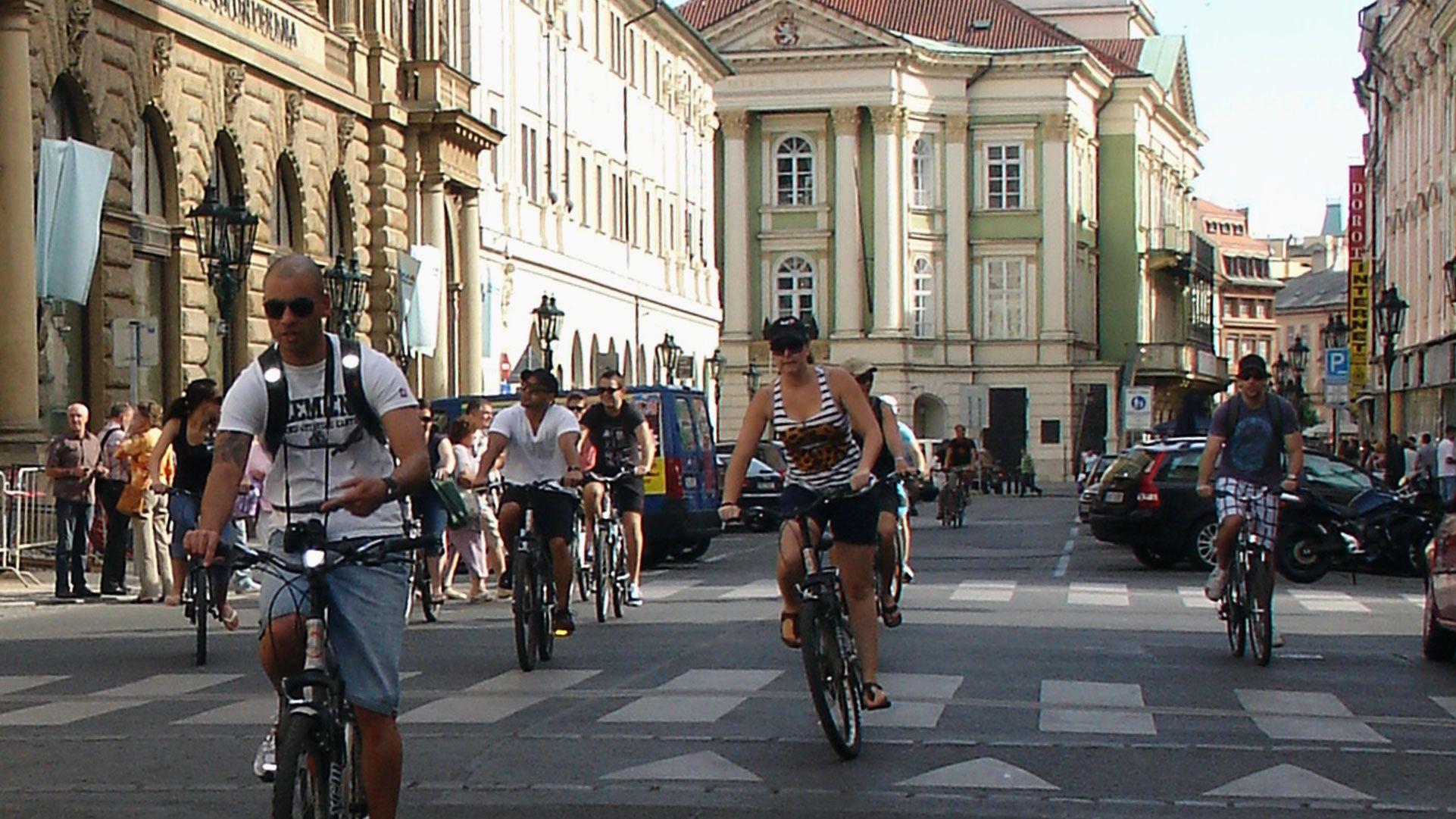 Guidad cykeltur i Prag