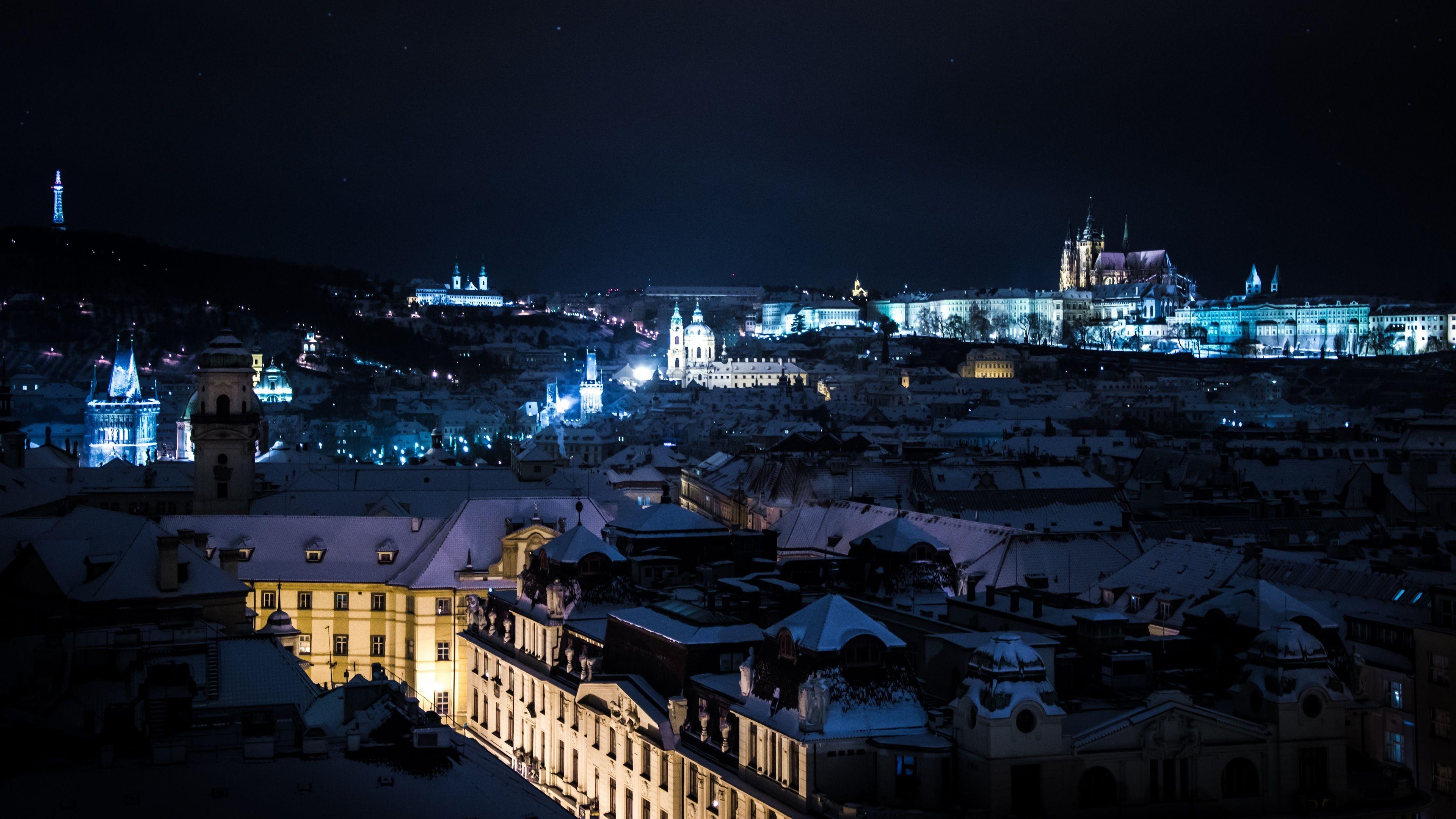Illuminated City by Night Tour