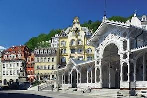 Visite d'une journée complète de Karlovy Vary et de Mariánské Lázne