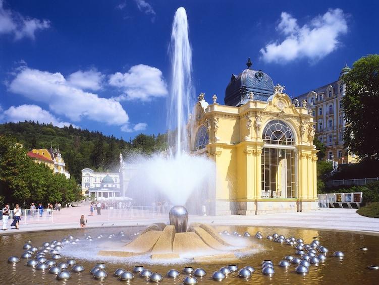 Show item 2 of 10. Full-Day tour of Karlovy Vary & Mariánské Lázne