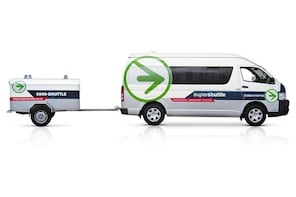 Departure Transfer: Napier and Hastings City Centre to Hawkes Bay Airport