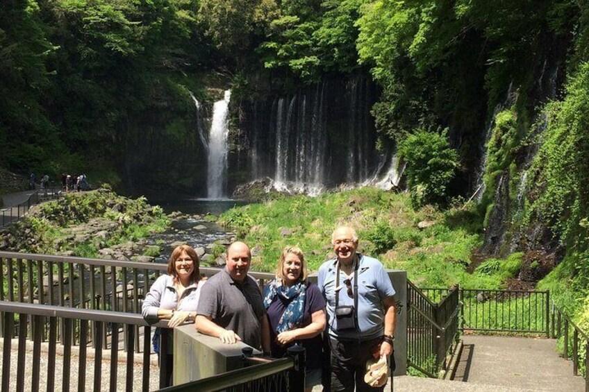 Shiraito & Otodome Falls in Fujinomiya City