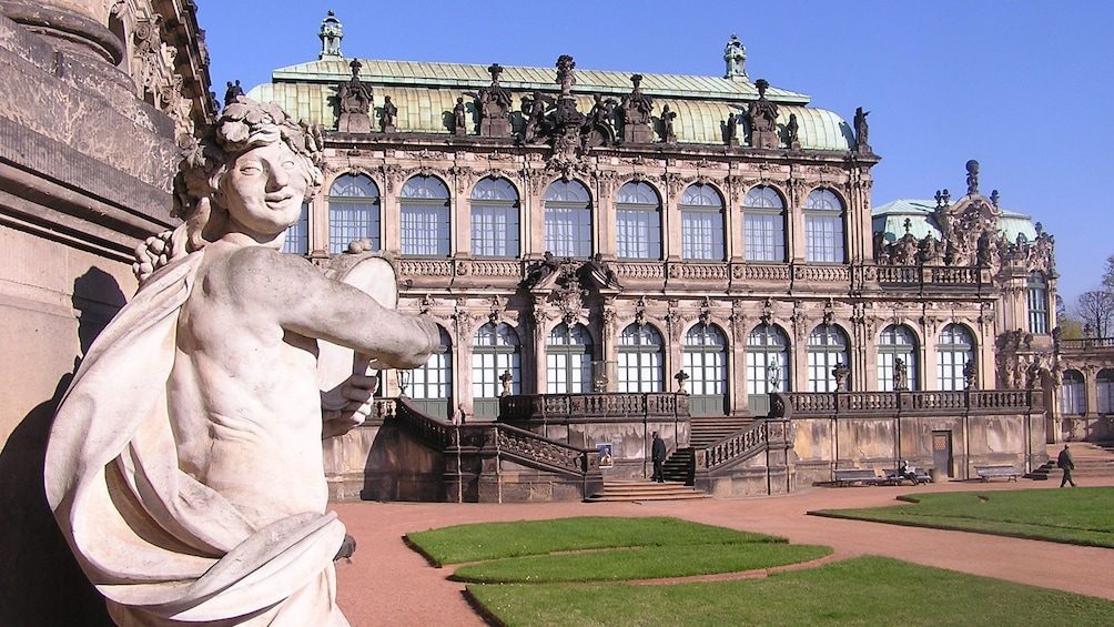 Show item 10 of 10. Zwinger Palace in Dresden