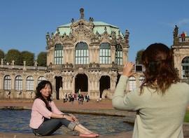 Matka Dresdeniin ja sisäänpääsy Zwingerin palatsiin ja Sempergalerie-museoo...
