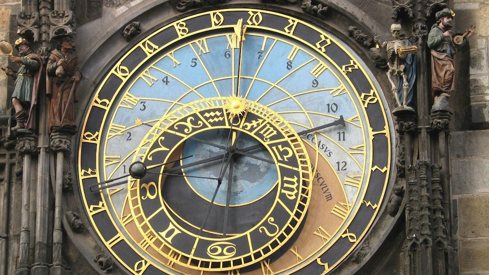 Show item 4 of 10. Astronomical Clock in Prague