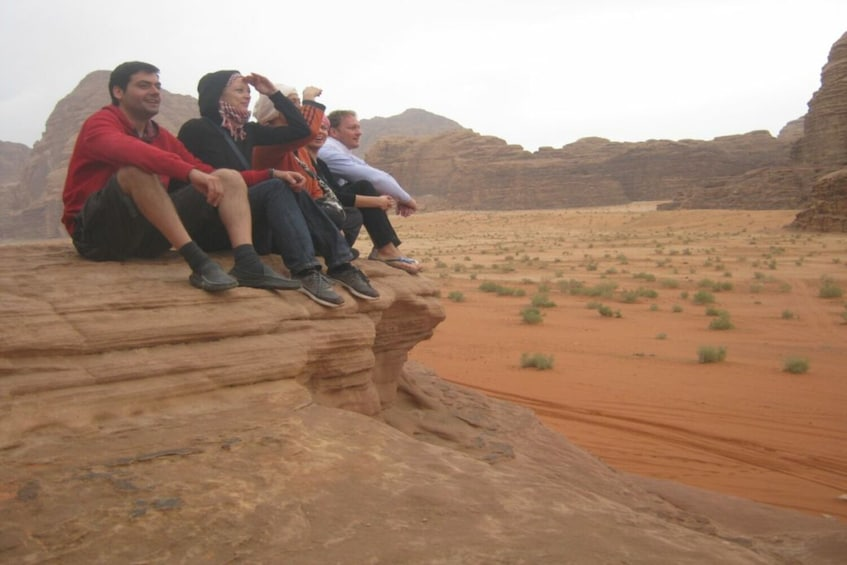 Show item 3 of 4. Wad Rum Day Tour From Aqaba overnight in Wadi Rum