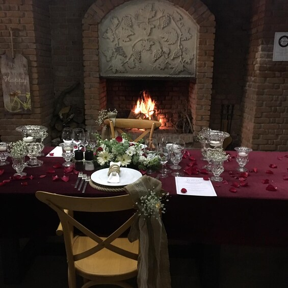 Show item 2 of 3. Christmas Dinner at Karnas Vineyards
