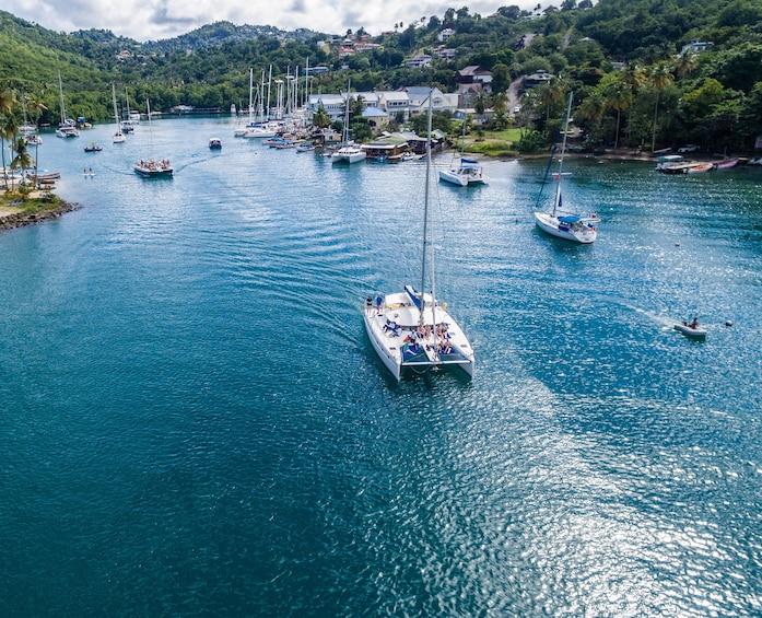 Show item 3 of 9. Catamaran Day Sail & Sightseeing Tour