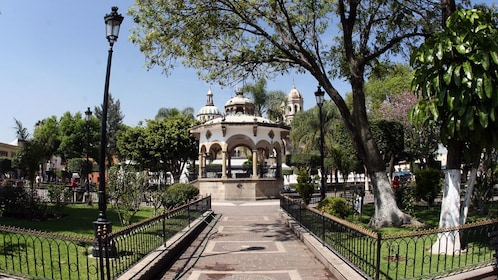 Gazebo and park in Guadalajara