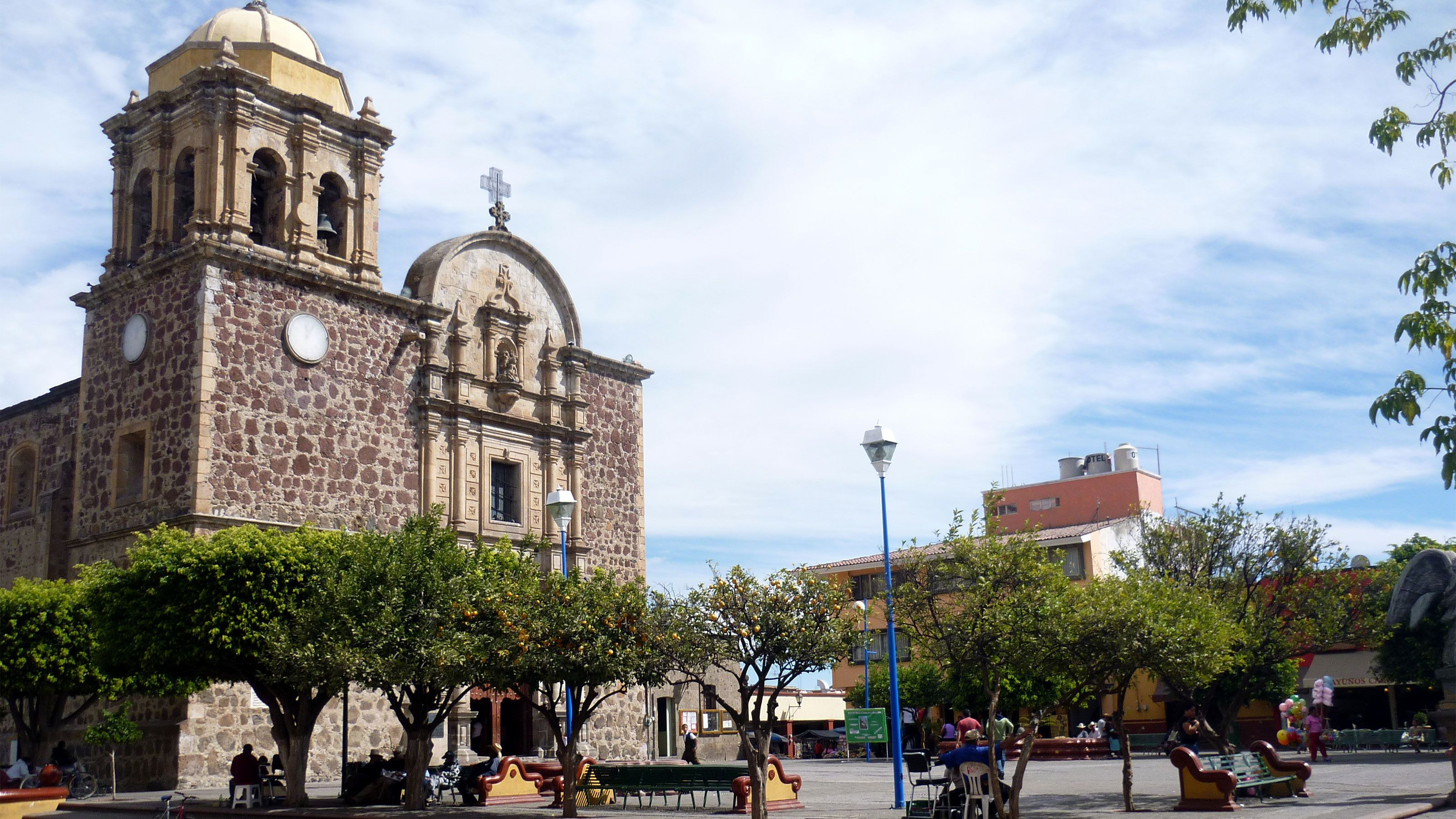 Church of Santiago Apostol in the town of Tequila