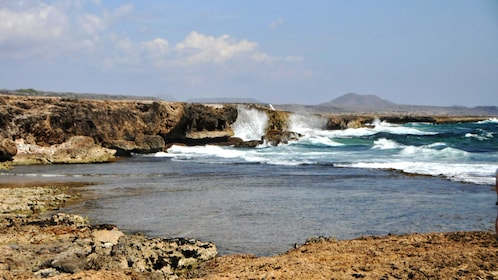 View of the Playa Lagun in Curacao