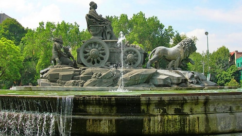The fountain of Cibeles in Mexico City