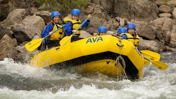 Browns Canyon Half Day Rafting