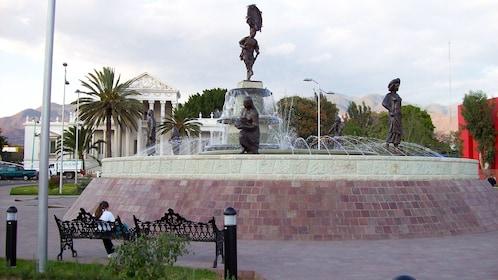 The Fountain of Seven Regions in Oaxaca