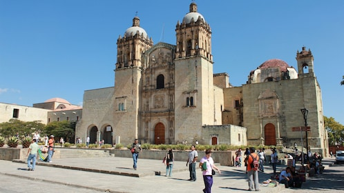 Church of Santo Domingo de Guzmán in Oaxaca