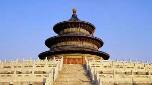 Steps leading to the Temple of Heaven in Beijing