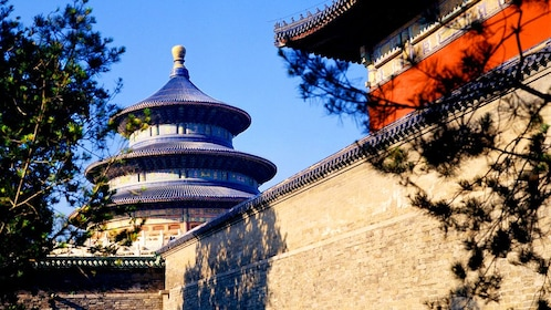 Building near the Temple of Heaven in Beijing