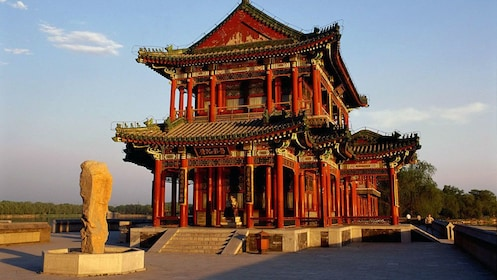 Ornamented structure in Beijing
