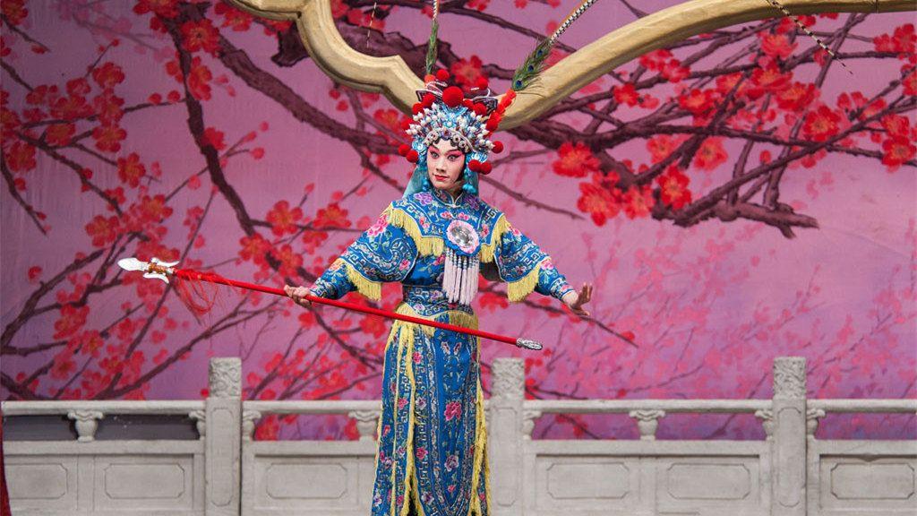 Pekingin oopperan iltaesitys ja kuljetukset