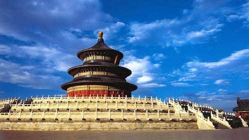Visiting the Temple of Heaven in Beijing