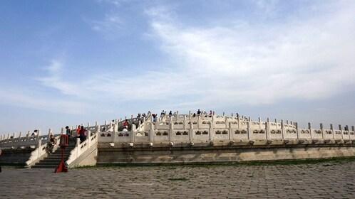 Decorated platform in Bejing