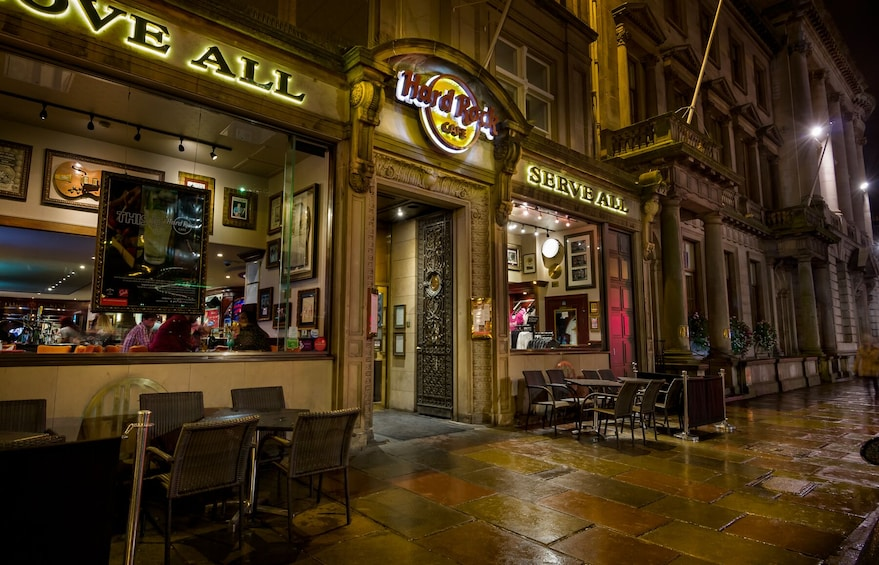 Show item 1 of 9. Hard Rock Cafe Edinburgh Dining with Priority Seating