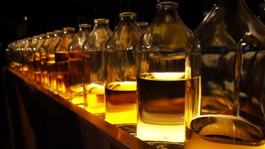 Show item 8 of 8. Whiskey bottles in Edinburgh