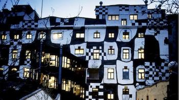 Kaartje voor Museum Hundertwasser
