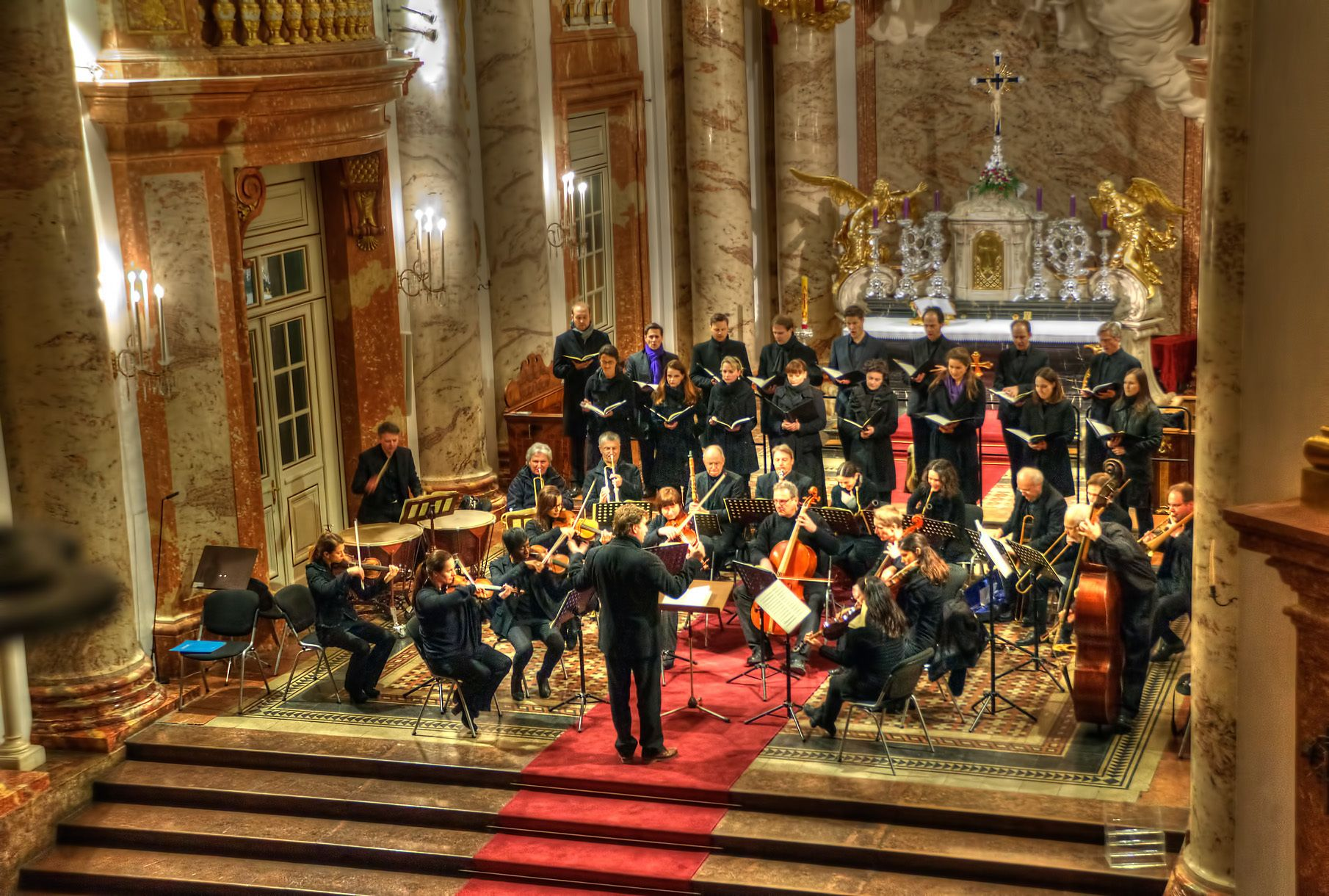Mozart Requiem Concert at St. Charles's Church